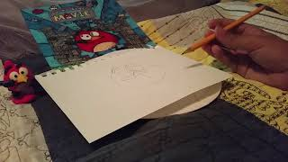 Angry Birds The Movie: How To Draw Red