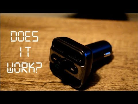 Cheapest hack for playing music in your car! (FM transmitter)