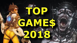 The 10 Best Selling Games of 2018 are SURPRISING!