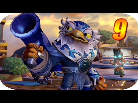 Skylanders Imaginators - Gameplay Español - Capitulo 9 - La Fortaleza Celeste