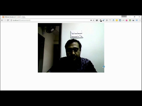 How To Access Webcam In Html5 Using Javascript