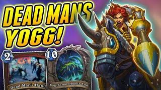Dead Mans Hand + Yogg is Great | Wild DMH Yogg | Hearthstone Rise of Shadows