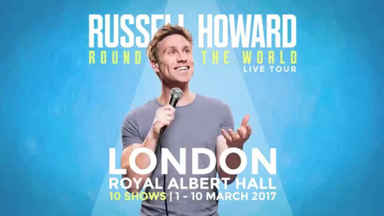 Russell Howard Round The World Live Tour 2017 Youtube