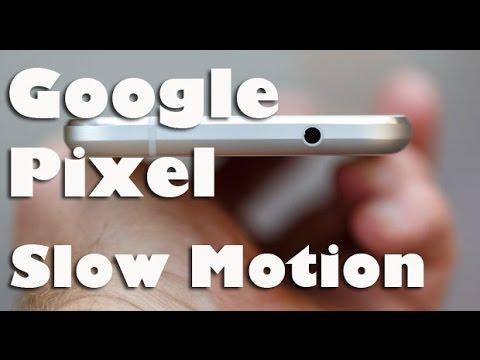 Google Pixel Slow Motion 120 FPS