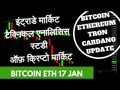 Bitcoin Ethereum Tron More Altcoins Price Technical Analysis today 17th January 2019 Hindi