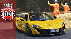 McLaren P1 v Porsche 918 Spyder v Ferrari LaFerrari - Hillclimb face off