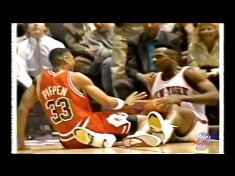 Scottie Pippen vs Charles Oakley! I
