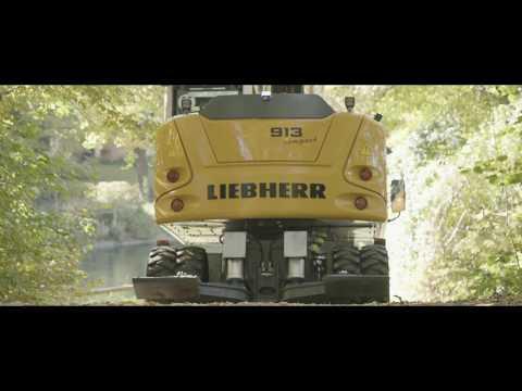 Liebherr  Die Hydraulikbagger der Liebherr Compact Baureihe