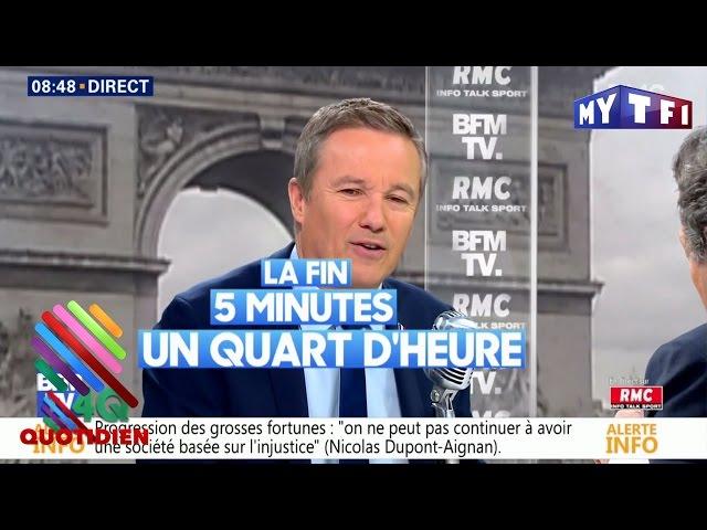 Nicolas Dupont-Aignan a-t-il regardé le débat ? Qui envoyait des SMS à Fillon ? On a les réponses !