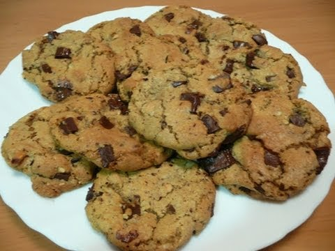 COOKIES DE CHOCOLATE (RECETA FÁCIL) - YouTube