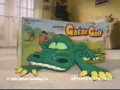 Gator Golf Toy Commercial! - YouTube on cartoon stay in shape, cartoon body of water, goodbye cruel world cartoon golf, sea animal headcovers golf,