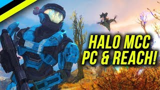 HALO MCC Coming to PC & HALO REACH MCC SOON!