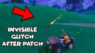 How To Do INVISIBLE Glitch In Fortnite (XBOX, PS4, PC)