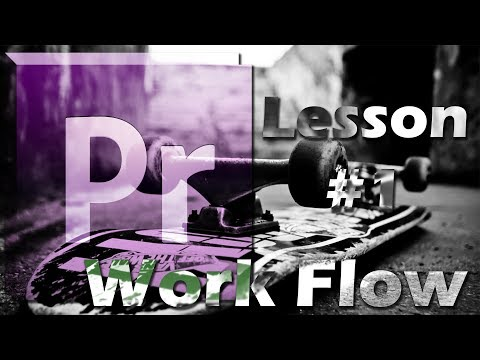 Tutorial Work Flow For Skate Clips | Video Editing In Premiere Pro CS6