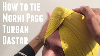 Repeat youtube video How to tie Morni Pagg Turban Dastar   JAGPREET SINGH   Full HD 2015