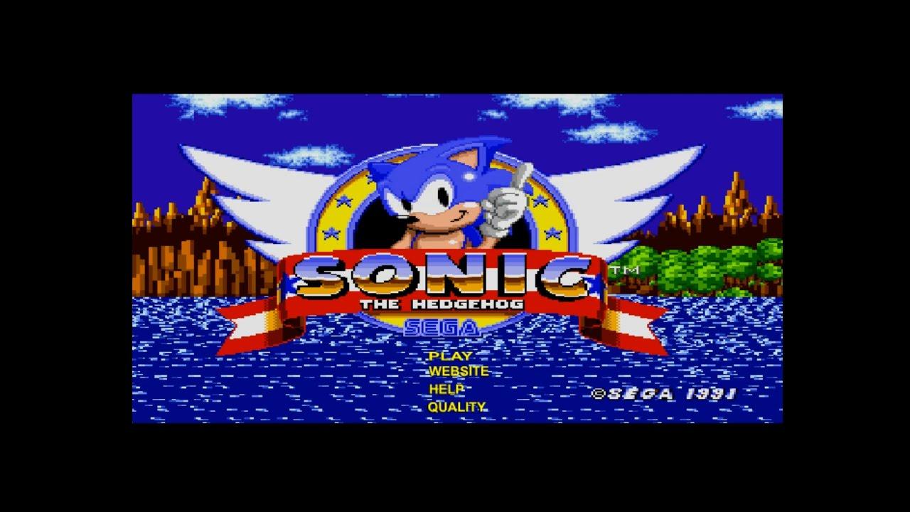 Allsonicgames Net sonic the hedgehog (allsonicgames flash) playthrough ~longplay~