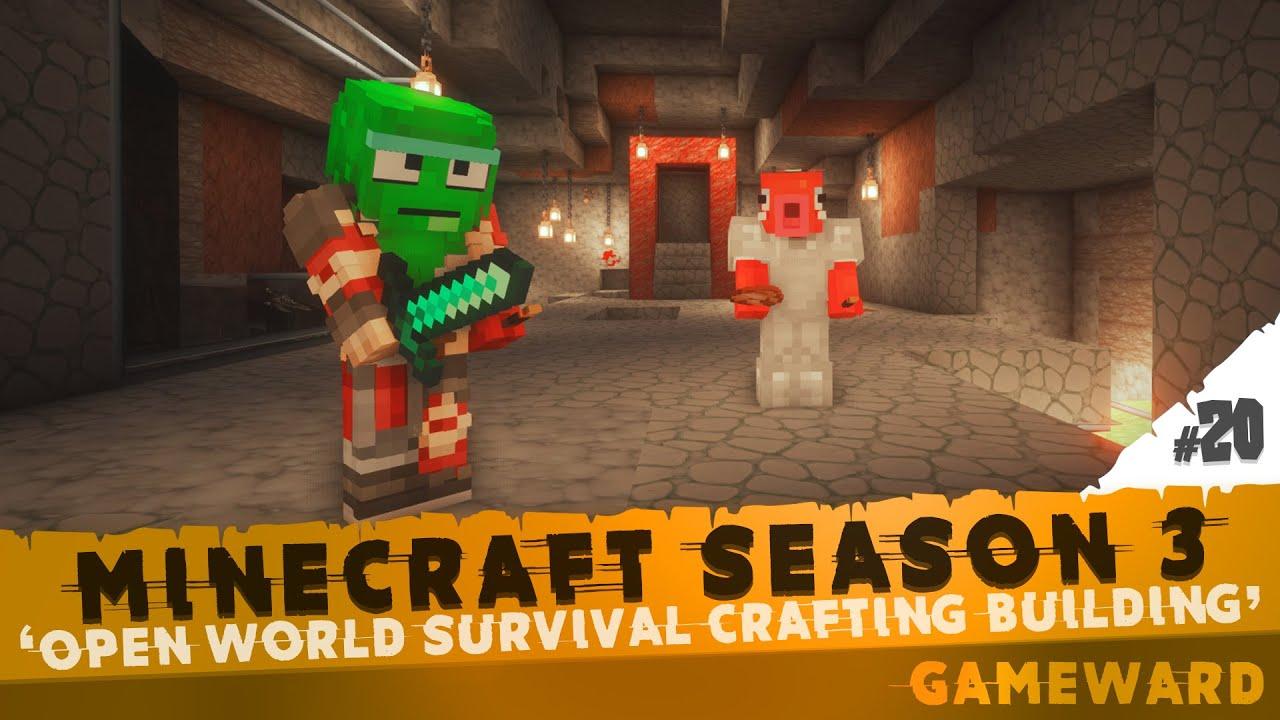 Ετοιμάζεται η πύλη!!! #20   Minecraft Season 3   Greek