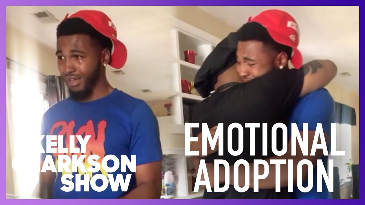 Teen Sobs As He Asks Stepdad To Adopt Him In Emotional Video