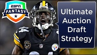 Best Strategies to Dominate Your Auction Draft | 2018 Fantasy Football