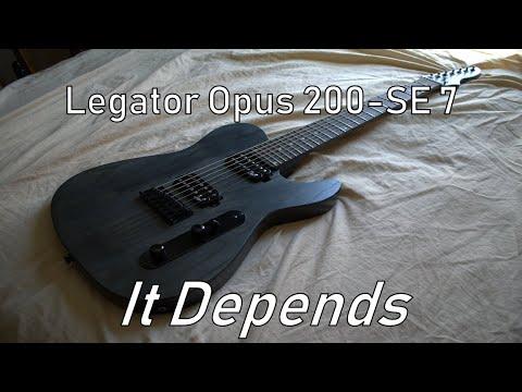 Are Legator Guitars Good In 2019? - Legator Opus 200-SE 7