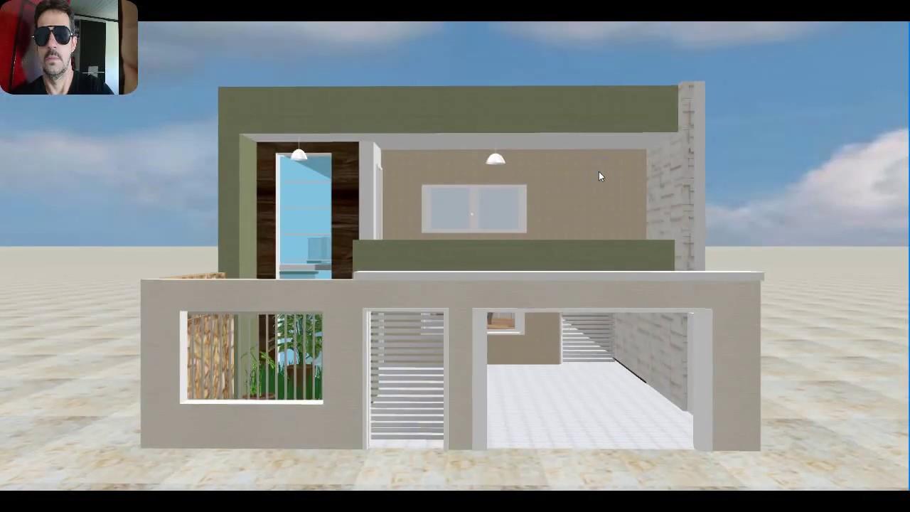 Download PLANTA 3D DE SOBRADO 5 5X14