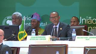 Closing Statement of the 10th Extraordinary Summit of the AU | Kigali, 21 March 2018