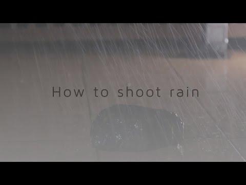 The SECRET to shooting rain!