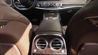Прокат автомобилей без водителя Mercedes / мерседес 222 черный(, 2016-01-15T15:12:29.000Z)