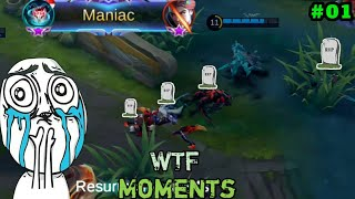 Mobile Legends WTF Funny Moments Episode #4