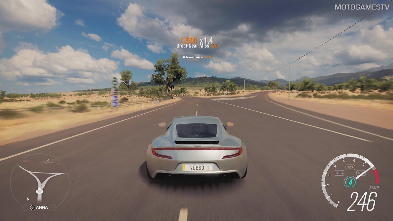 Forza Horizon 3 Xone Aston Martin One 77 Gameplay Youtube