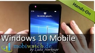 Windows 10 Mobile: Die neuen Funktionen & Apps im Hands-on-Video