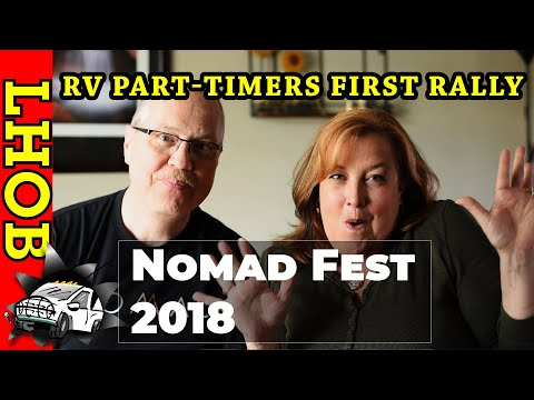Part-time RV'ers Attend First Festival: Nomad Fest 2018 Wellington Texas RV Life