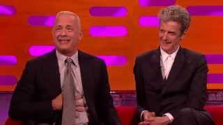 Tom Hanks talks about being the voice of Woody in the Toy Story films - The Graham Norton Show - BBC