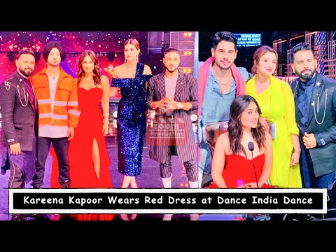 Kareena Kapoor Khan Wears Red Dress For Dance India Dance Show Mp3