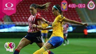 ¡Las felinas están en la final! | Tigres 3-2 Chivas |Liga Mx Femenil-Semifinal |Televisa Deportes