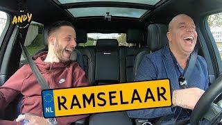 Bart Ramselaar  - Bij Andy in de auto! (English subtitles)