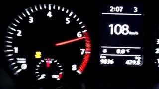 VW Polo BlueGT 1.4 TSI ACT DSG ( 0-120 km/h ) Acceleration