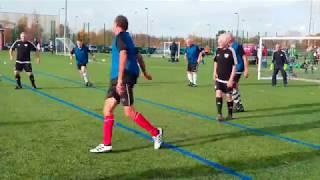 Fulham v Kingston WFC November Surrey FA Walking Football Tournament.