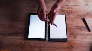 Lenovo Yogabook : la fonction prise de note