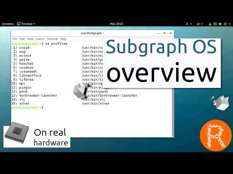 Subgraph OS overview |  Adversary resistant computing platform
