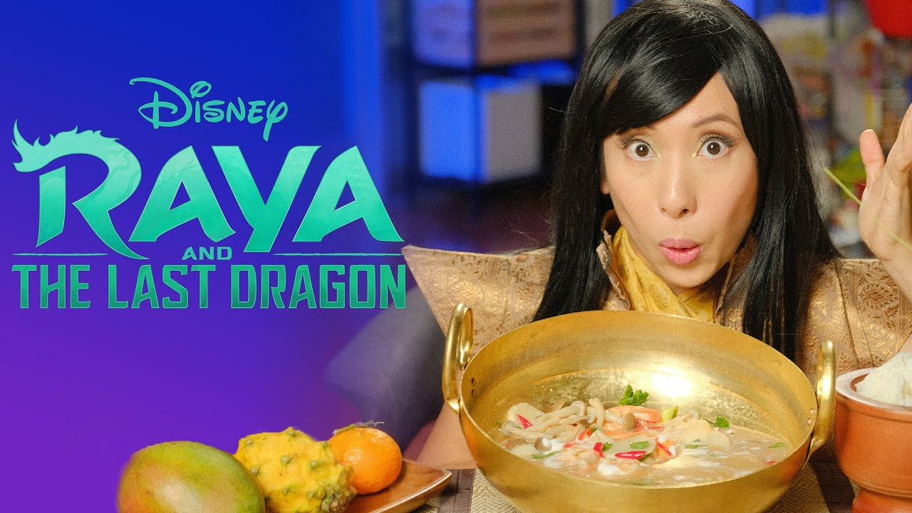 Cooking Kumandra Soup from Raya and the Last Dragon