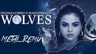 Download Lagu Selena Gomez, Marshmello - Wolves (Metal Remix) Mp3