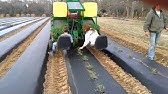 Water Wheel Transplanter in action at Langwater Farm - YouTube