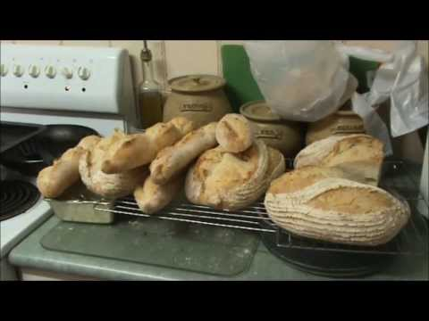 How to make OAT BRAN FRENCH BREAD.