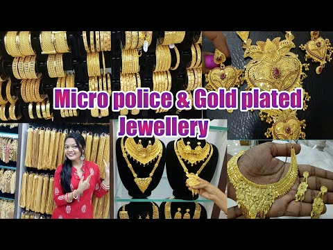 Selva Gold Covering Shop,Micro Police,gold Plated Jewellery (Part2)