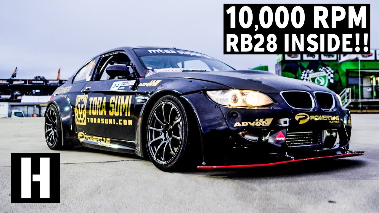 Screaming BMW M3 Has The 10,000 RPM Heart Of A Skyline
