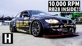 10,000 RPM Skyline-Powered BMW M3!? YES.