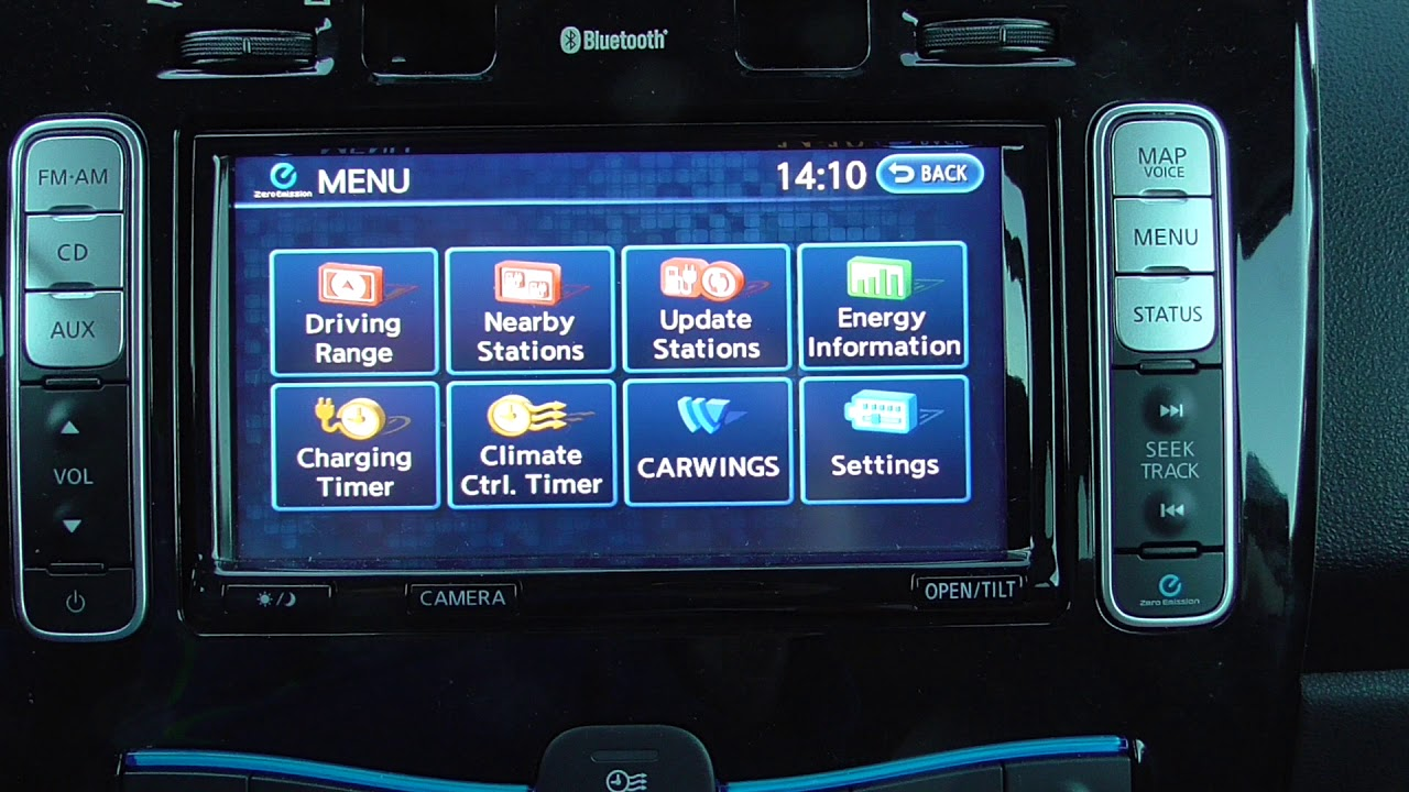 Short Video About Charger Timer And Climate Control On Nissan Leaf