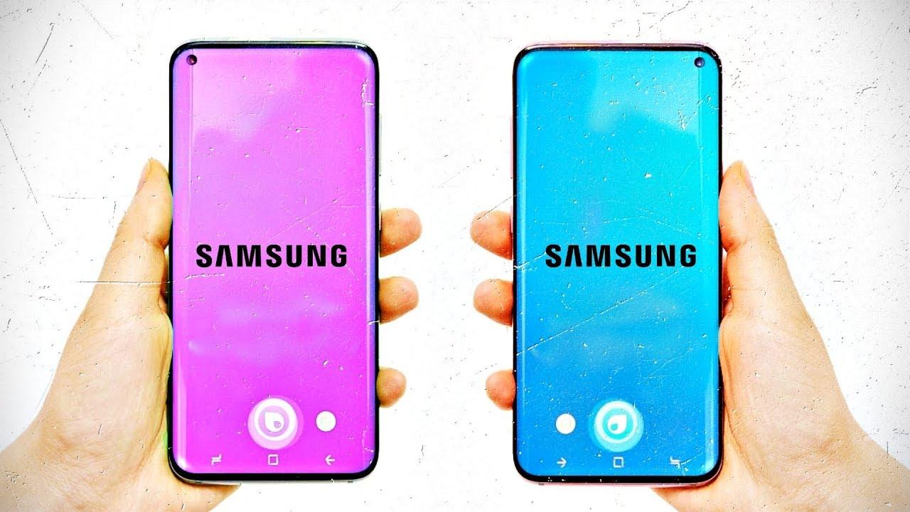 Samsung Galaxy S10 rumored design