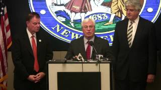 Bergen County Police Department Police Merger Discussion - Press Conference